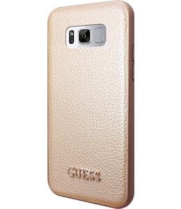 Guess Guess Iridescent Backcover Case Samsung Galaxy S8 Gold GUHCS8IGLGO