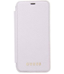 Guess Guess Iridescent Book Case Samsung Galaxy S8 Silver GUFLBKS8IGLTSI