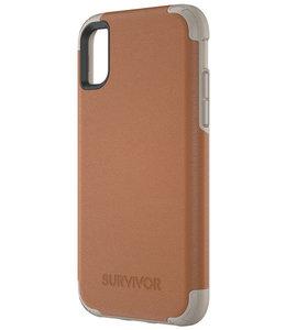 Griffin Griffin Survivor Prime Leather Apple iPhone X/XS Brown TA43866