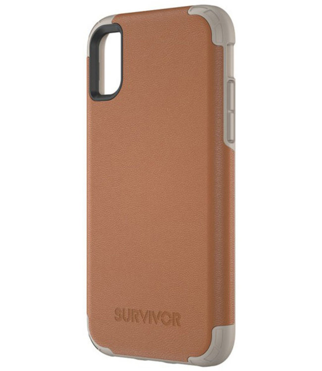 Griffin Griffin Survivor Prime Leather Apple iPhone X/XS Brown TA43866