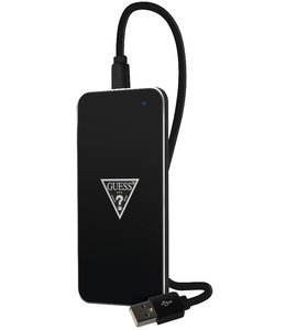Guess Guess Wireless Charger Black/Silver GUWCP850TLBK