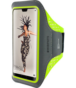 Mobiparts Mobiparts Comfort Fit Sport Armband Huawei P20 Neon Green