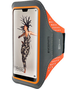 Mobiparts Mobiparts Comfort Fit Sport Armband Huawei P20 Neon Orange