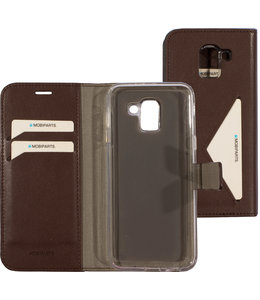 Mobiparts Mobiparts Classic Wallet Case Samsung Galaxy J6 (2018) Brown
