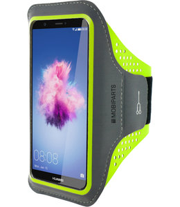 Mobiparts Mobiparts Comfort Fit Sport Armband Huawei P Smart Neon Green