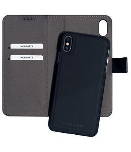 Mobiparts Mobiparts 2 in 1 Premium Wallet Case Apple iPhone XS Max Black