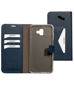 Mobiparts Mobiparts Classic Wallet Case Samsung Galaxy J6 Plus (2018) Blue