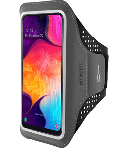 Mobiparts Mobiparts Comfort Fit Sport Armband Samsung Galaxy A50/A30S Black