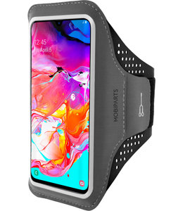 Mobiparts Mobiparts Comfort Fit Sport Armband Samsung Galaxy A70 (2019) Black