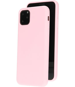 Mobiparts Mobiparts Silicone Cover Apple iPhone 11 Pro Max Blossom Pink