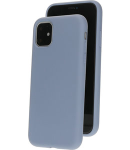 Mobiparts Mobiparts Silicone Cover Apple iPhone 11 Royal Grey