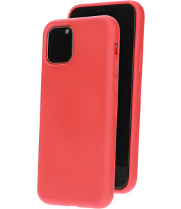 Mobiparts Mobiparts Silicone Cover Apple iPhone 11 Pro Scarlet Red