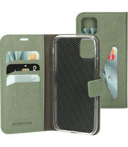 Mobiparts Mobiparts Classic Wallet Case Apple iPhone 11 Pro Stone Green