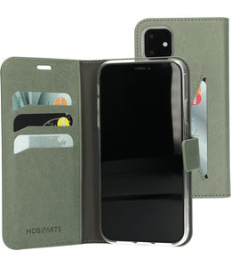 Mobiparts Mobiparts Classic Wallet Case Apple iPhone 11 Stone Green