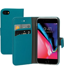Mobiparts Mobiparts Saffiano Wallet Case Apple iPhone 7/8/SE (2020) Turquoise