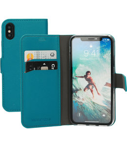 Mobiparts Mobiparts Saffiano Wallet Case Apple iPhone X/XS Turquoise
