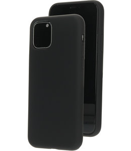 Mobiparts Mobiparts Silicone Cover Apple iPhone 11 Pro Black