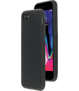 Mobiparts Silicone Cover Apple iPhone 7/8/SE (2020) Black