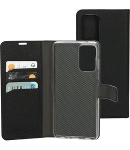 Mobiparts Mobiparts Saffiano Wallet Case Samsung Galaxy A72 (2021) Black