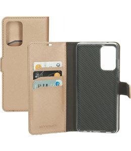 Mobiparts Mobiparts Saffiano Wallet Case Samsung Galaxy A72 (2021) Copper
