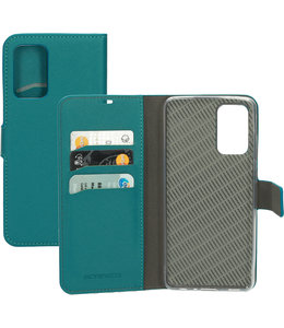Mobiparts Mobiparts Saffiano Wallet Case Samsung Galaxy A72 (2021) Turquoise