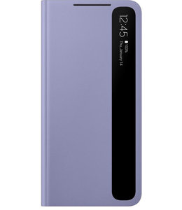 Samsung Samsung Galaxy S21 Clear View Cover Violet