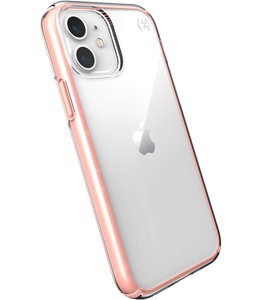 Speck Speck Presidio Perfect Clear Apple iPhone 12/12 Pro Clear/Rosy Pink - with Microban