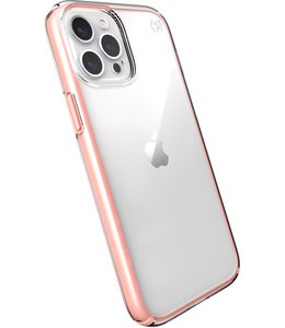 Speck Speck Presidio Perfect Clear Apple iPhone 12 Pro Max Clear/Rosy Pink - with Microban