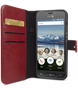 Doro Doro 8040 Wallet Case Red