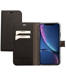 Mobiparts Mobiparts Saffiano Wallet Case Apple iPhone XR Black