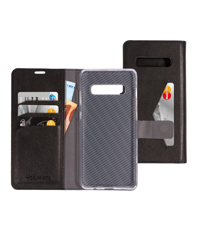 Mobiparts Mobiparts Classic Wallet Case Samsung Galaxy S10 Plus Black