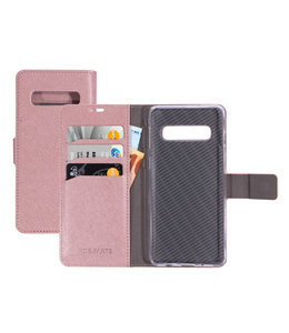 Mobiparts Mobiparts Saffiano Wallet Case Samsung Galaxy S10 Pink