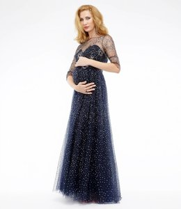 MARCHESA NOTTE Maternity Evening Dress