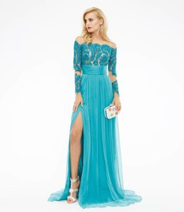 CRISTALLINI COUTURE Maxi Silk Dress