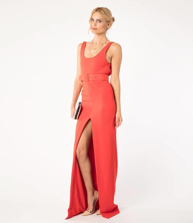 SOLACE London Solace Red Dress