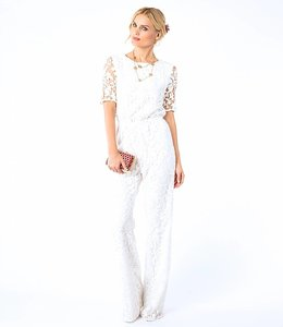 DVF White  Jumpsuit