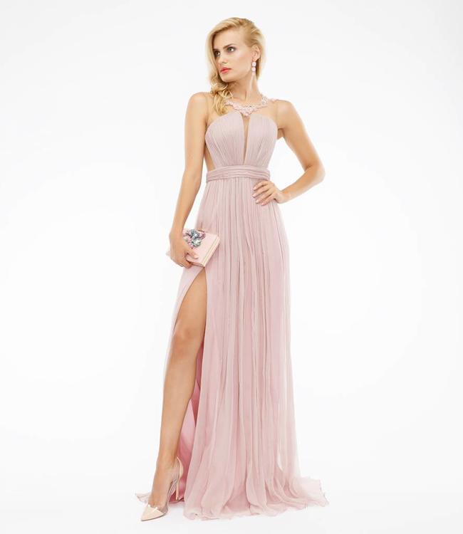 Silk Evening Dress -