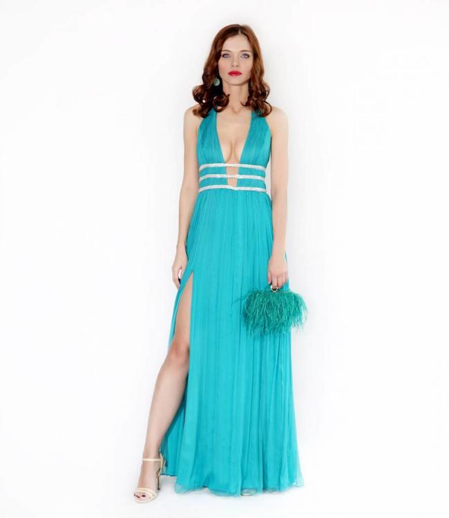 NISSA  Kleid Mit Tiefem Ausschnitt