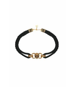 ELISABETTA FRANCHI Belt With Lion Head