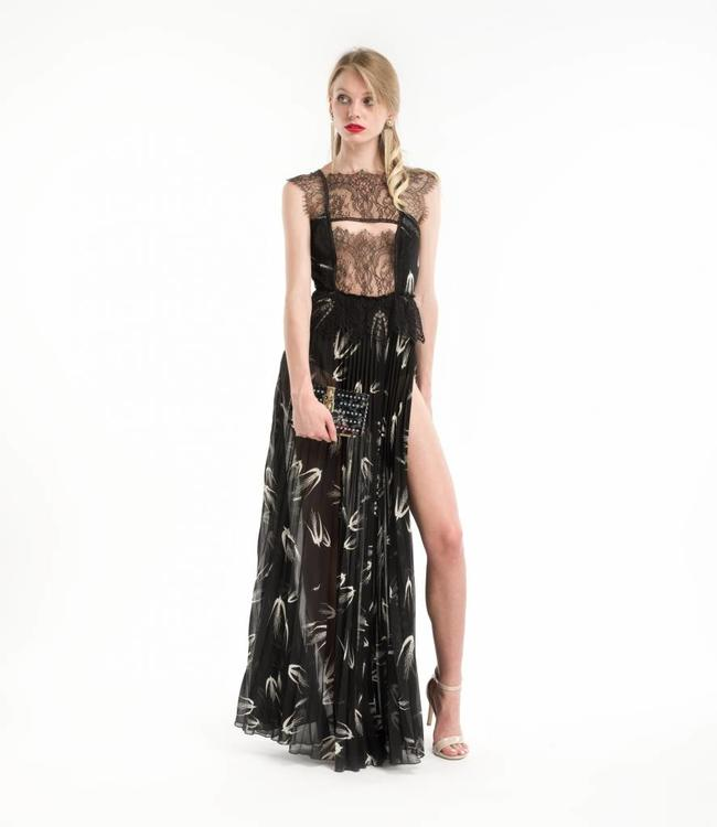 ELISABETTA FRANCHI Abendkleid mit Spitze