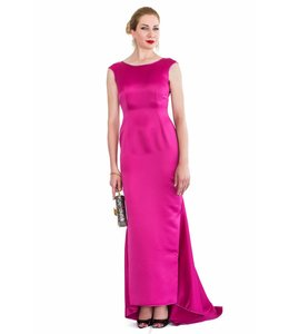 LANA CAPRINA % Pink Open Back Dress