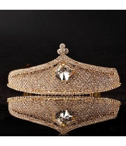 HAND MADE Trendy Gold Tiaras