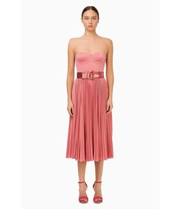 ELISABETTA FRANCHI Sleeveless Dress With Belt
