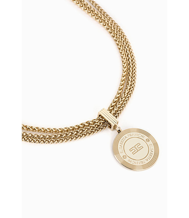ELISABETTA FRANCHI Necklace with multi-chains