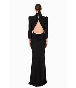 ELISABETTA FRANCHI Black Long dress