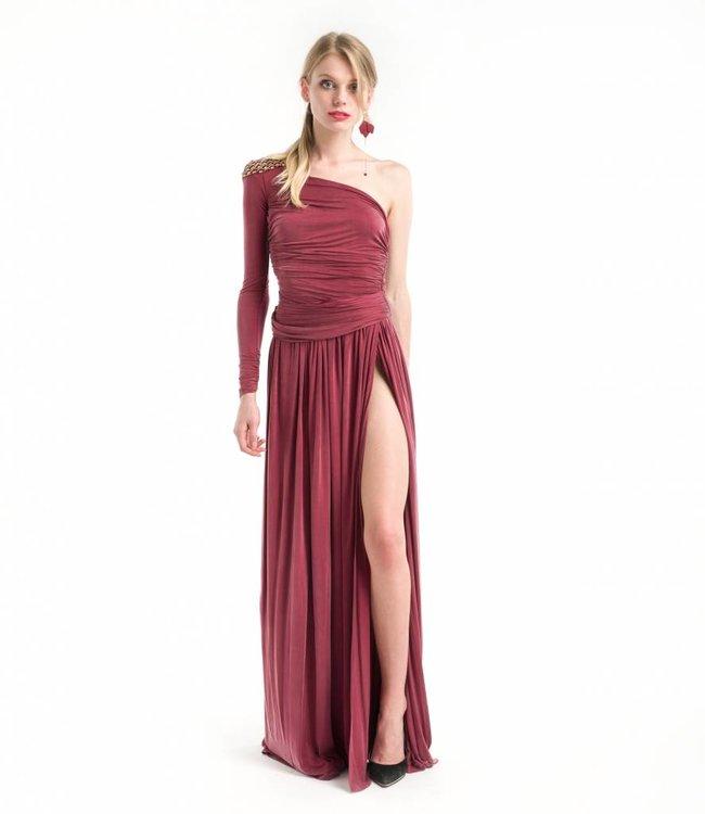 ELISABETTA FRANCHI One-Shoulder Dress