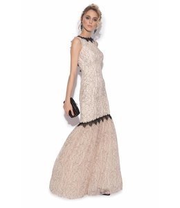 NISSA %Abendkleid Im Meerjungfrauen Stil