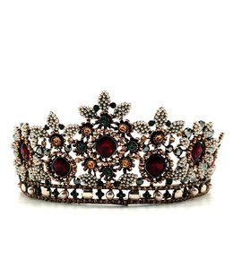 FASHION EMERGENCY Bordo  Luxury Princess Queen Crown