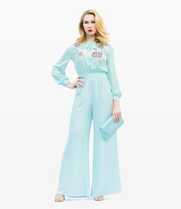 ELISABETTA FRANCHI Beaded Jumpsuit