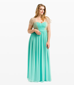 NISSA % Evening Dress with Corset